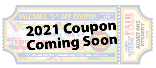 2021 Coupon Coming Soon