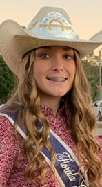 Pro Rodeo Queen Junior Miss Kailyn Ward
