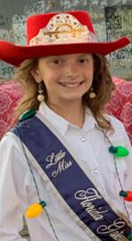 Pro Rodeo Queen Little Miss Audrey Miller