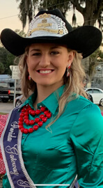 Pro Rodeo Queen Miss Dallas Frierson
