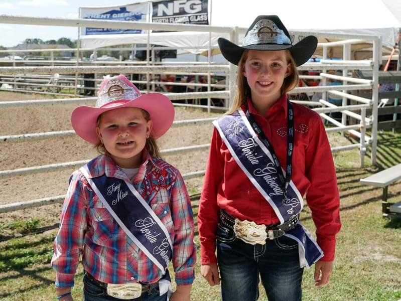 Tiny Miss Rileigh Milligan (Left) and Little Miss Brooklyn Conway (Right)